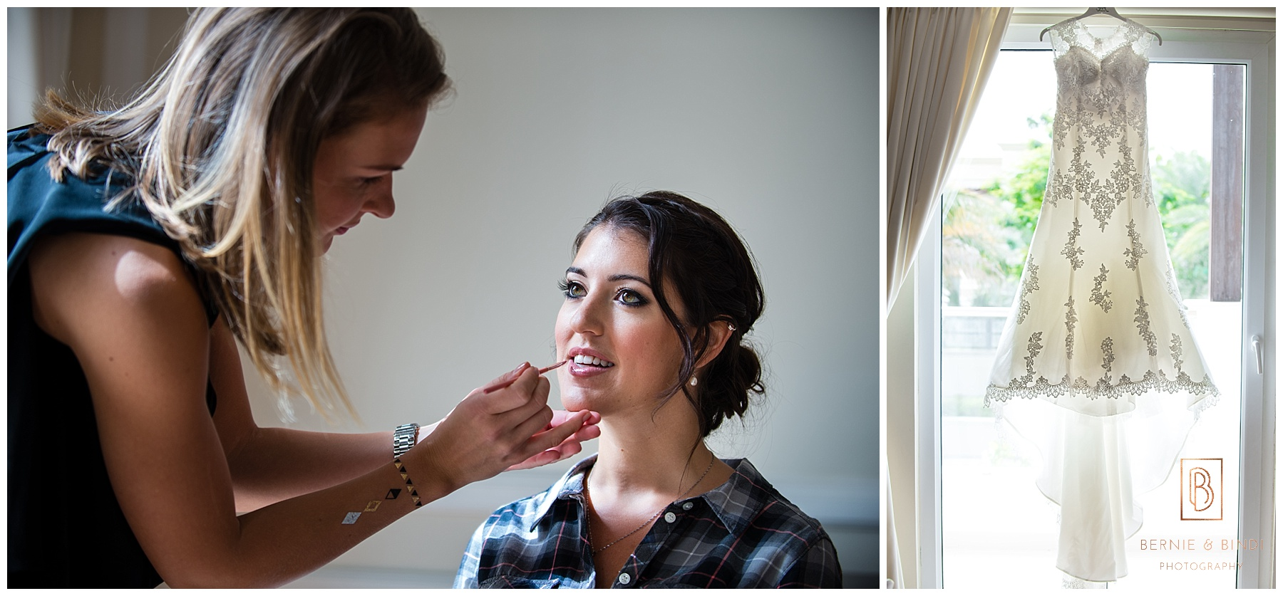 Dubai wedding photographer, bride getting ready, dubai One & Only,