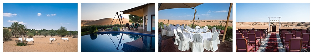 Al Maha Desert Resort, desert wedding, Dubai wedding
