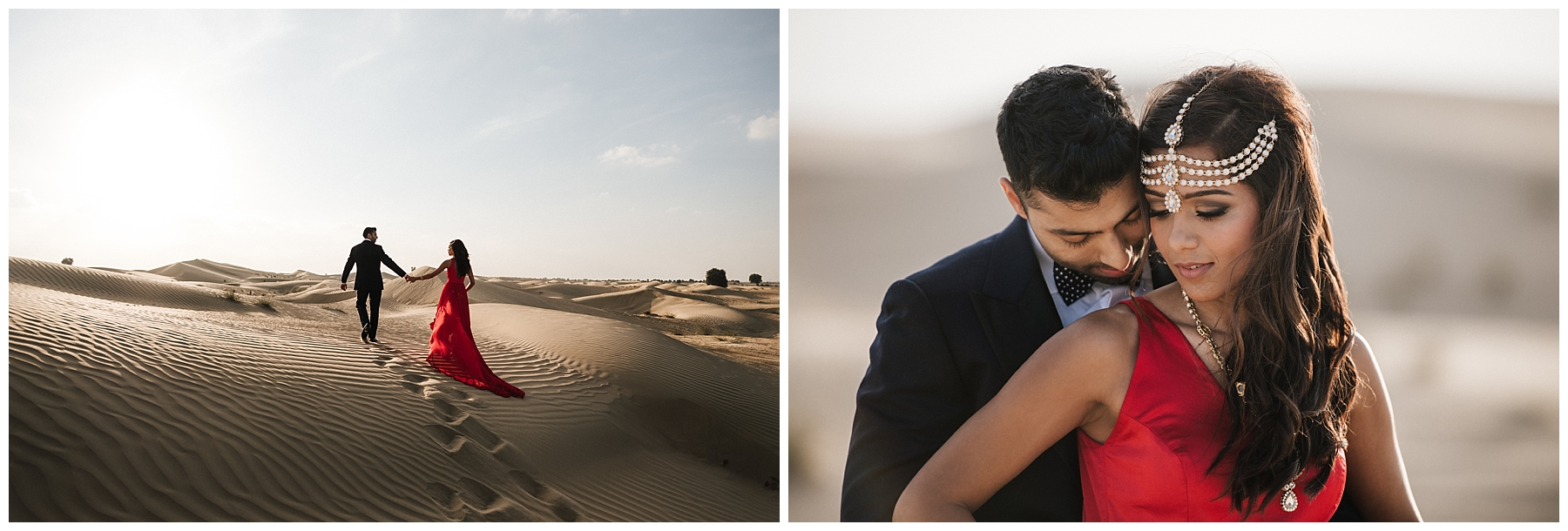 dubai wedding photographer, desert engagement shoot