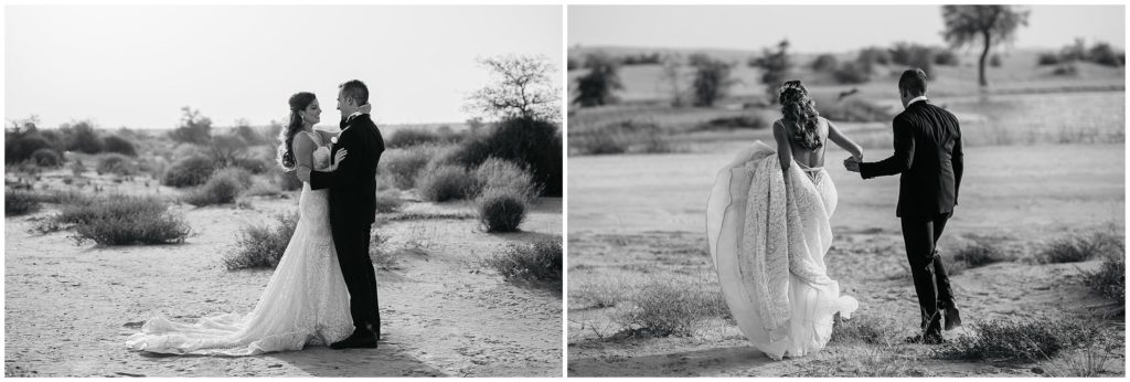 desert wedding, Bernie & Bindi, Dubai Wedding photographer